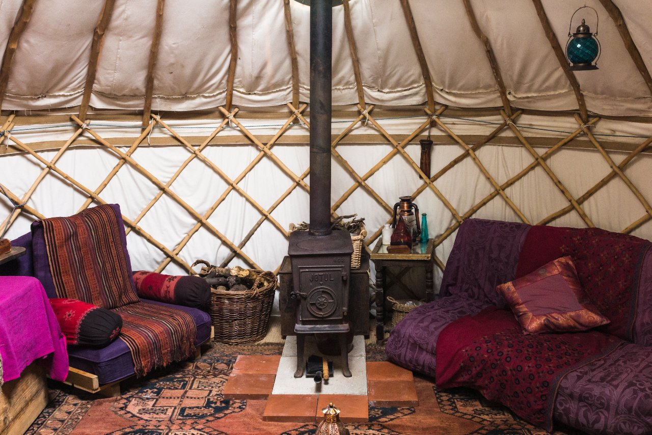 The Yurt And The Ark At Michael S Folly